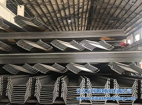 Z shaped steel sheet pile